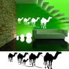 Stickers Désert Caravane de chameaux