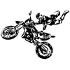 Stickers moto cross 03
