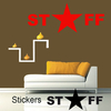 Stickers STAFF