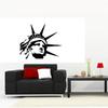 Stickers tête de la Statue de la Liberté
