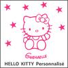 Stickers Hello Kitty Personnalisé Prénom