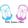 Stickers bébé Jumeaux à bord