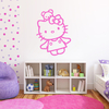 Stickers Hello Kitty et son ourson