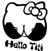Stickers Hello Kitty sexy tuning
