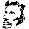 stickers Johnny Hallyday Portrait caricature
