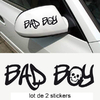 Stickers tuning Bad boy Lot de 2