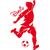 sticker football personnalisé
