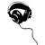 sticker musique casque audio 02