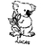 stickers autocollant koala avec prénom