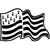 Stickers drapeau breton