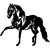 Stickers cheval andalou 02