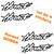 4 Stickers autocollant Honda Hornet 2