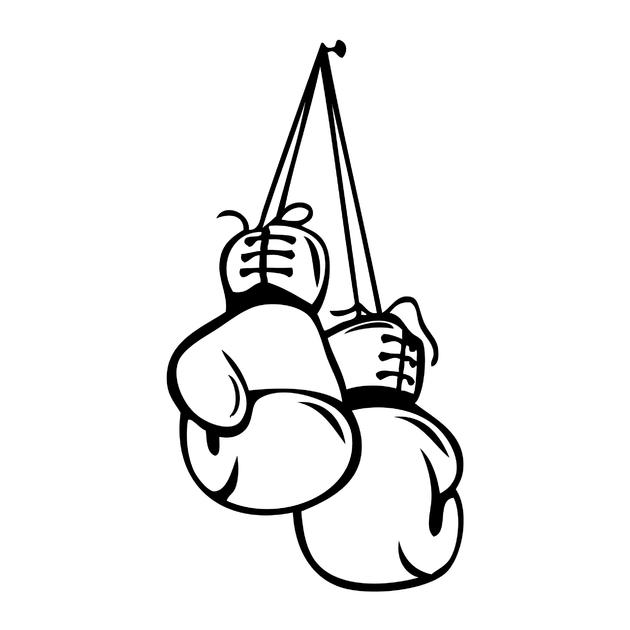 Stickers gants de boxe sport autres destock stickers - Gant de boxe dessin ...