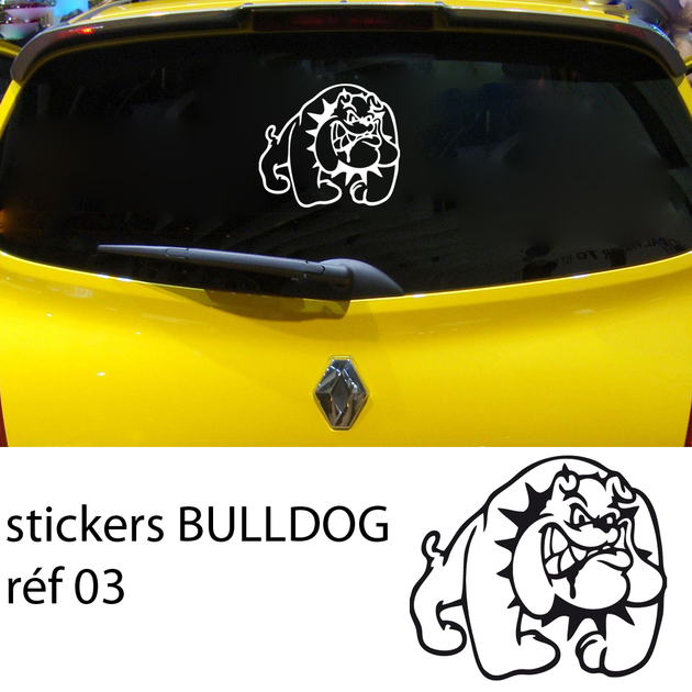 stickers bulldog tuning 03 tuning auto destock stickers. Black Bedroom Furniture Sets. Home Design Ideas