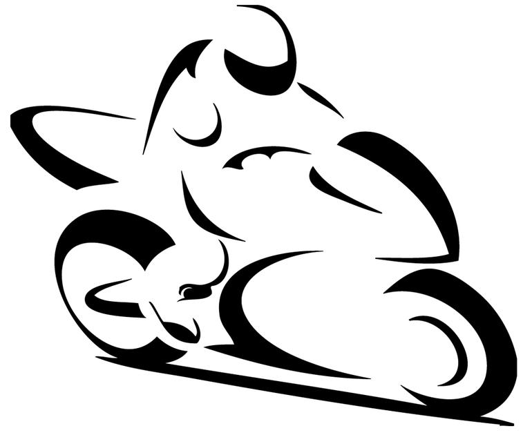 Stickers motard moto stylis sport moto destock stickers - Dessin de motard ...