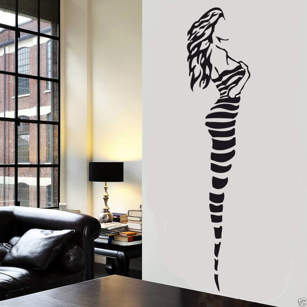 stickers femme sexy 02 sexy destock stickers. Black Bedroom Furniture Sets. Home Design Ideas