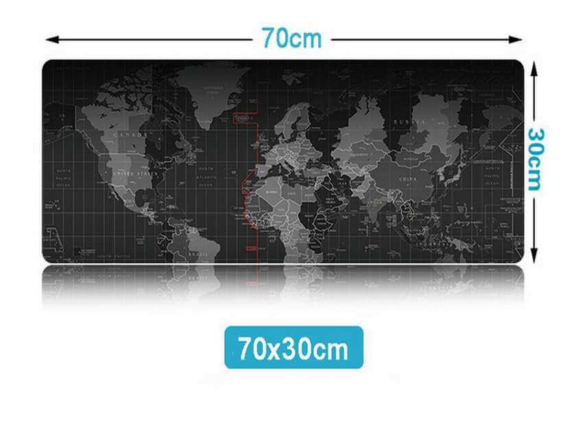 Tapis souris carte du monde