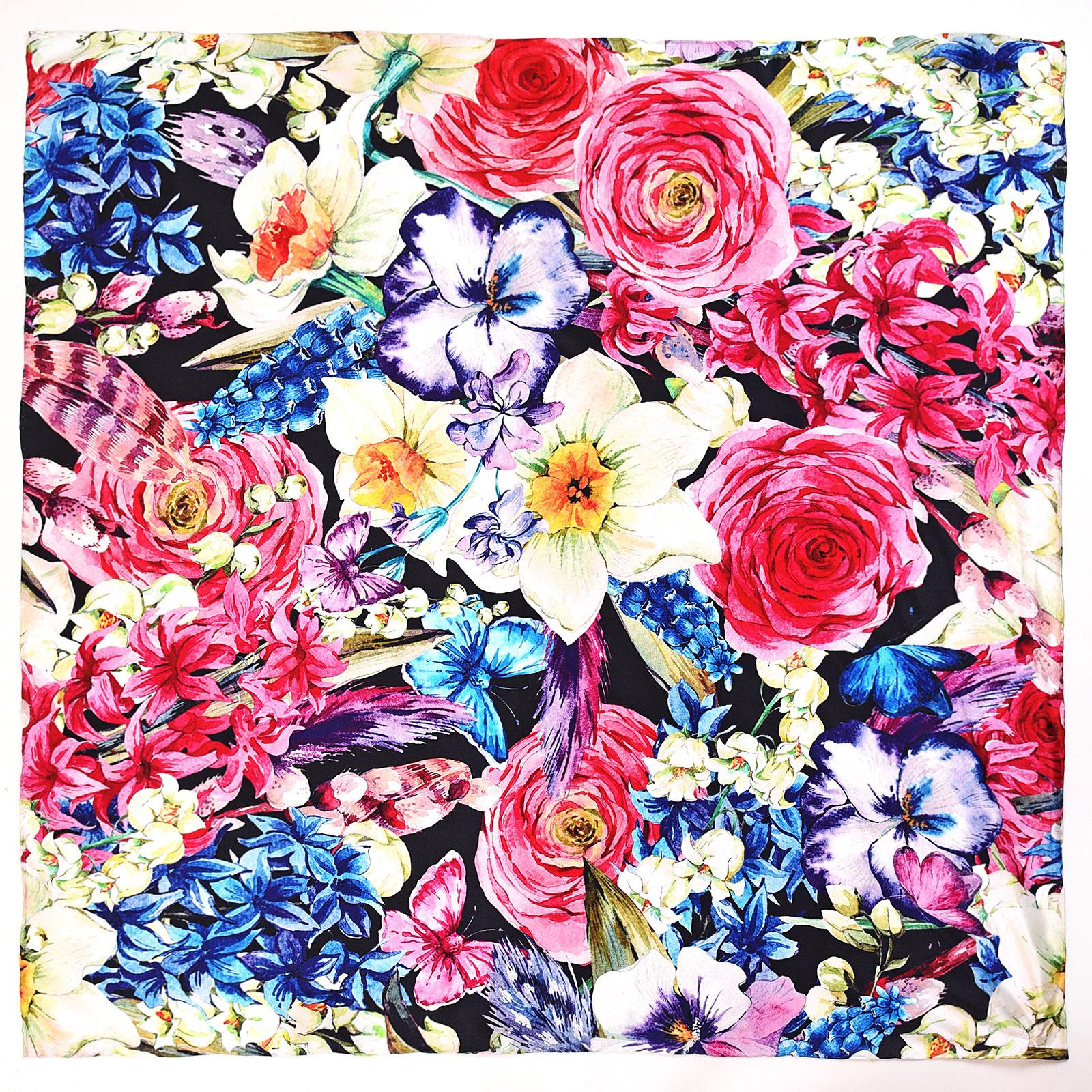 AT-04029-A16-carre-de-soie-fleurs-multicolores