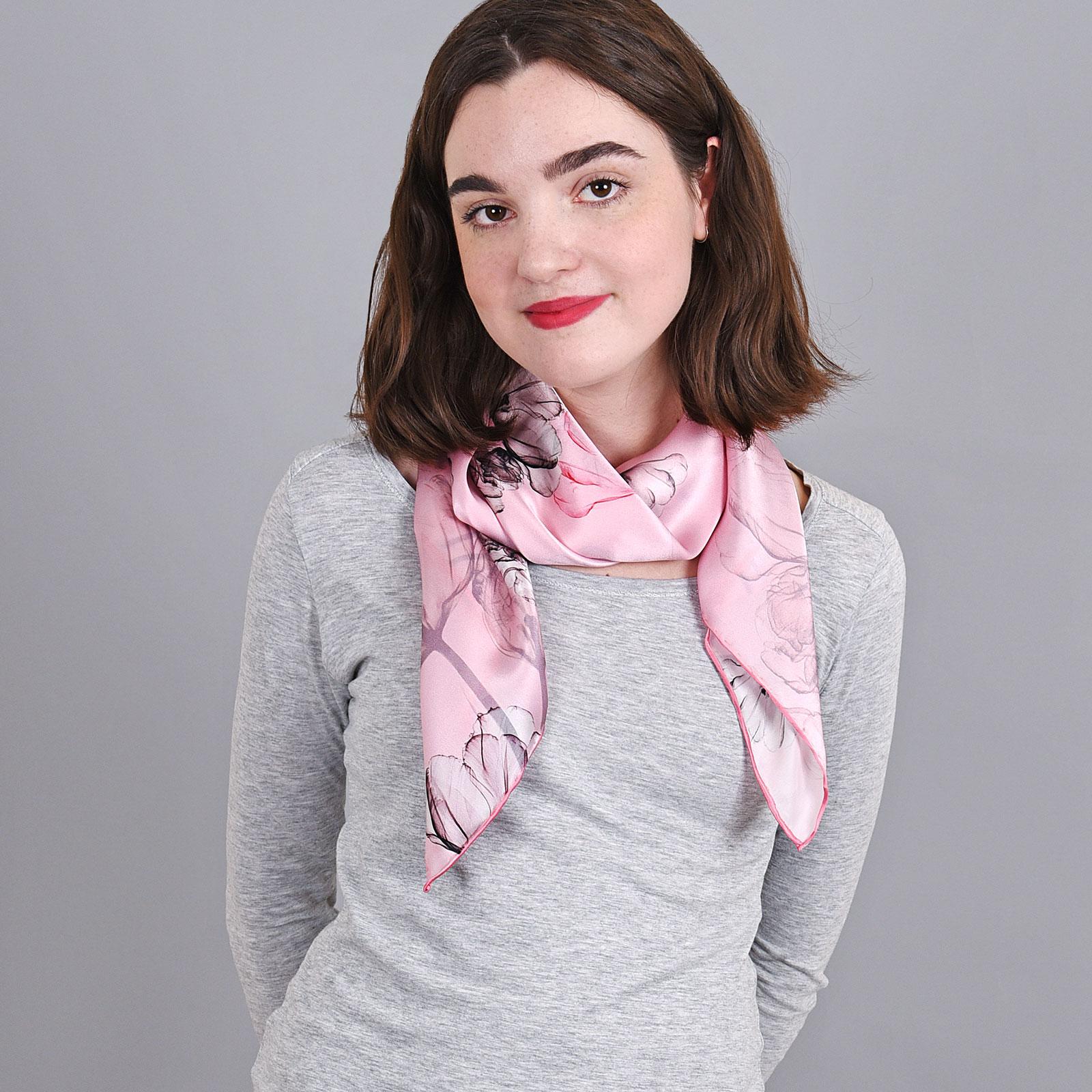 b4899acb838d Carré de soie - Allée du foulard