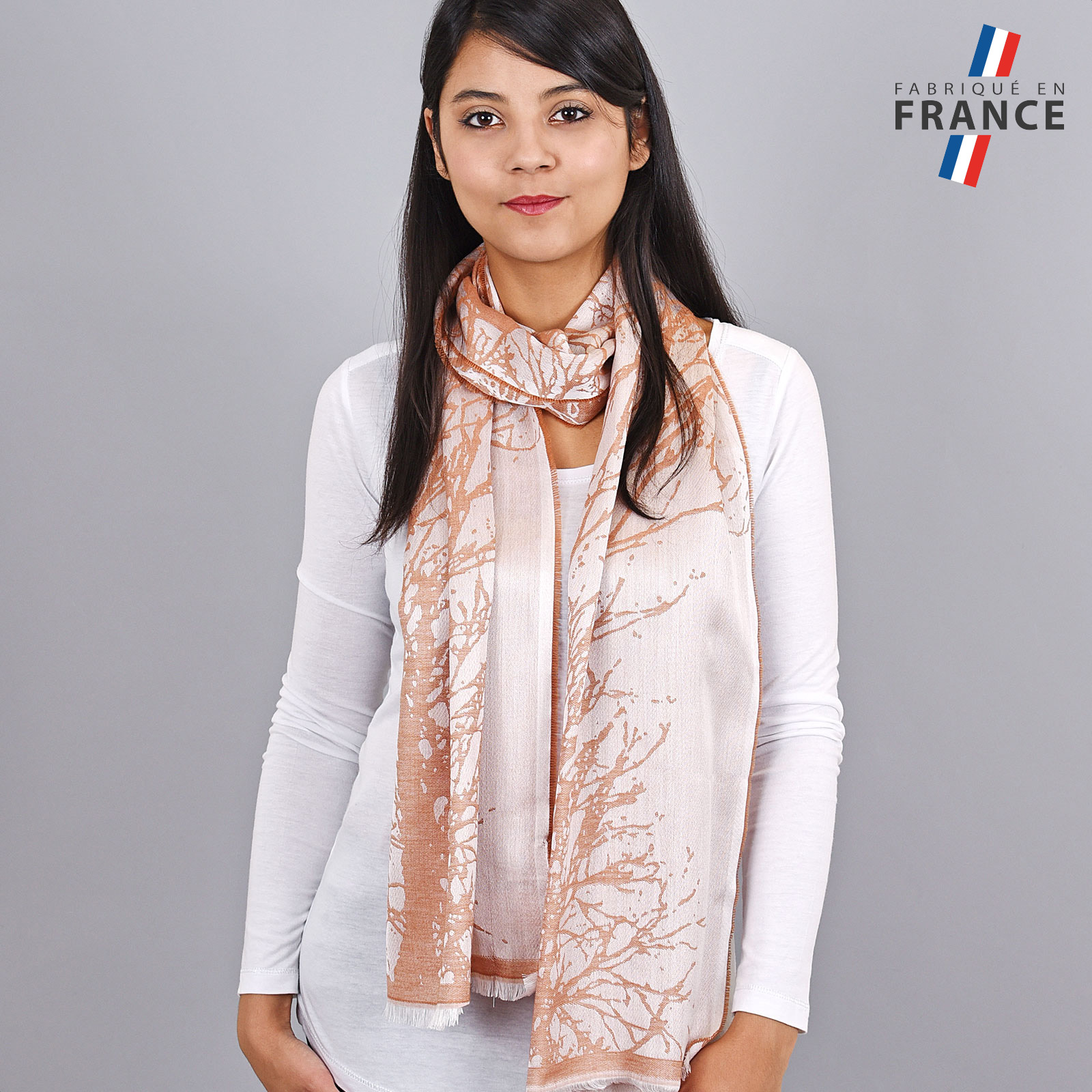 AT-04182-VF16-LB_FR-echarpe-femme-orange-saumon-qualicoq-fabrication-france