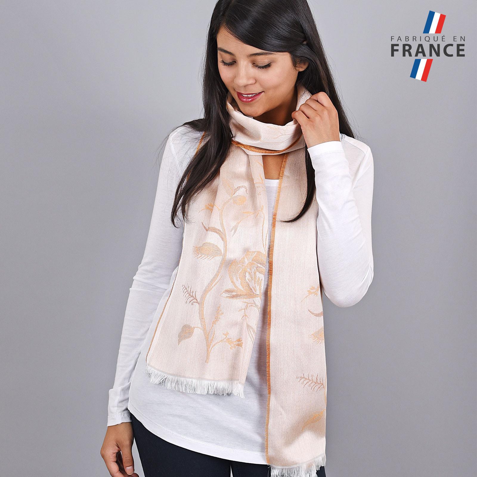 AT-04188-VF16-LB_FR-echarpe-femme-orange-qualicoq-fabrique-france