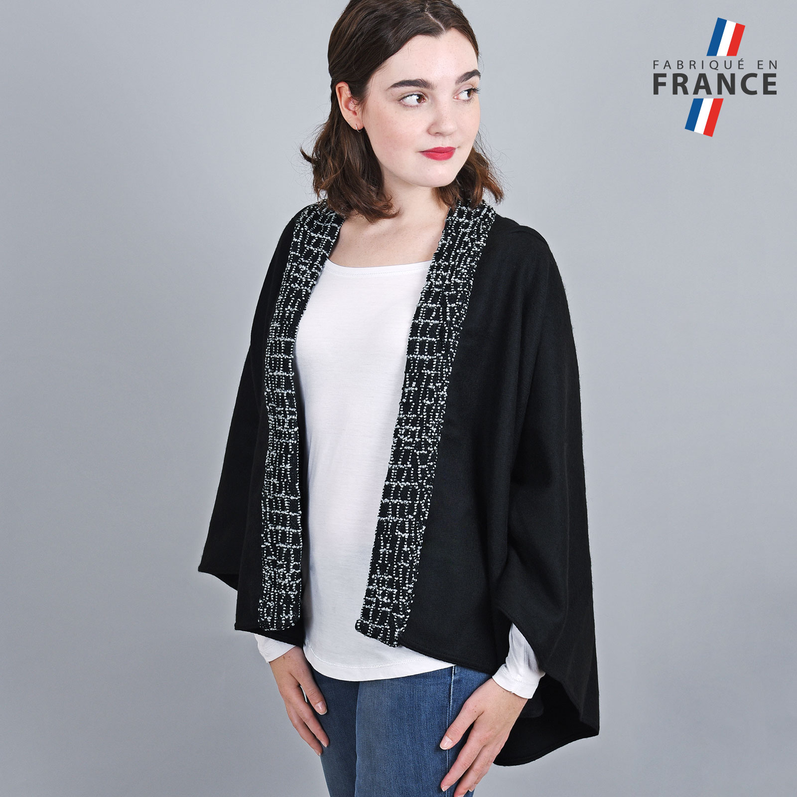 AT-03248-VF16-1-LB_FR-poncho-a-capuche-perles-gris-fabrication-francaise