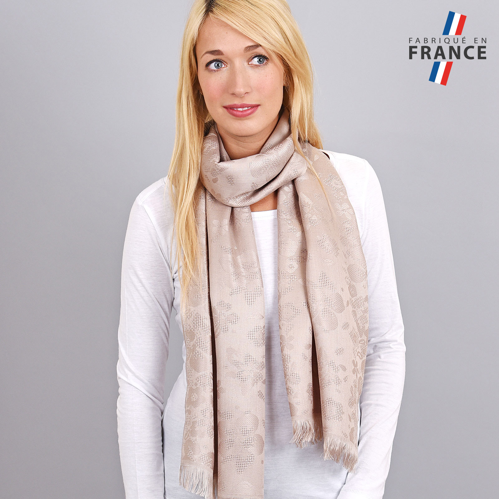 AT-04253-VF16-LB_FR-echarpe-femme-taupe-fabrication-france