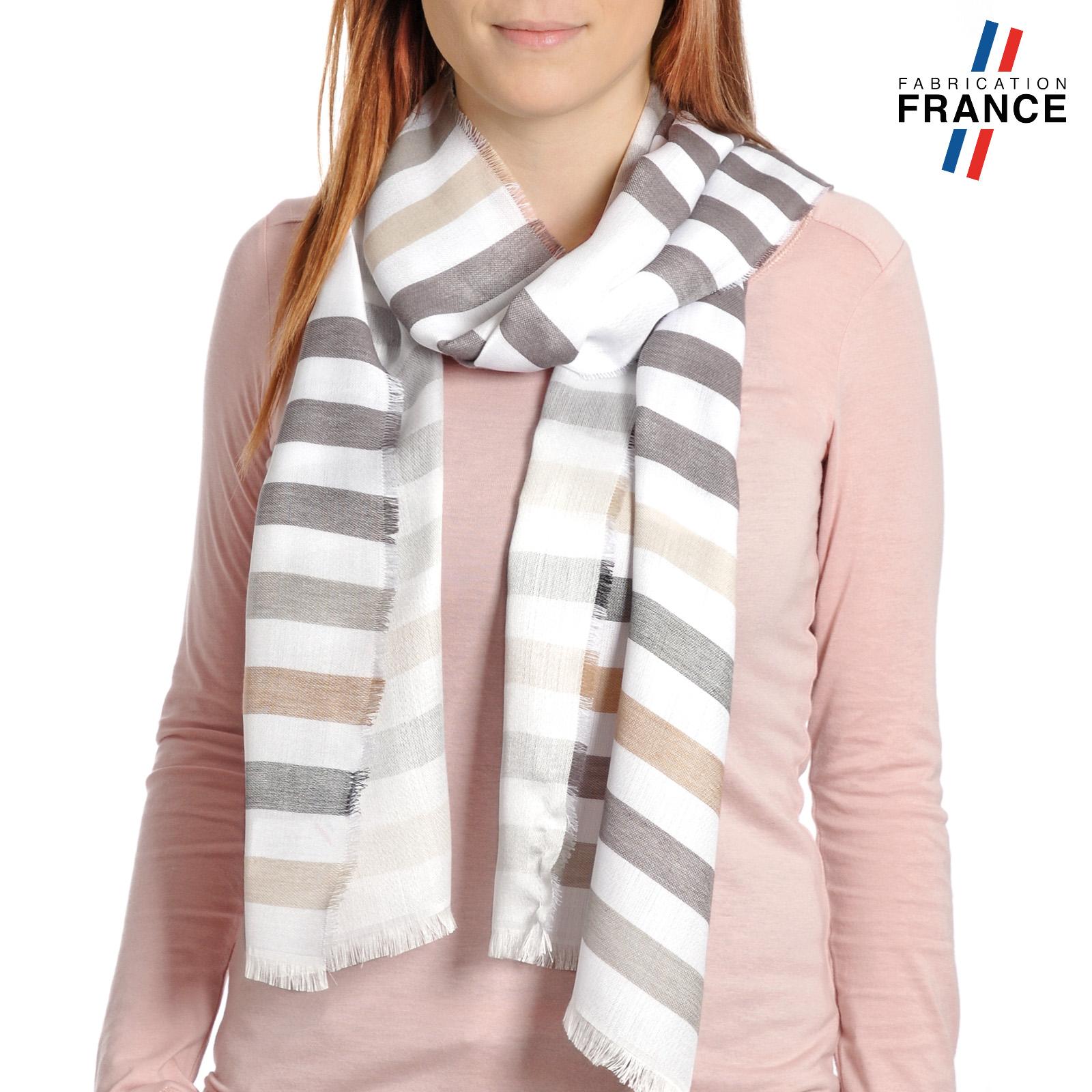 AT-04292-VF16-LB_FR-echarpe-femme-gris-beige-qualicoq-a-rayures