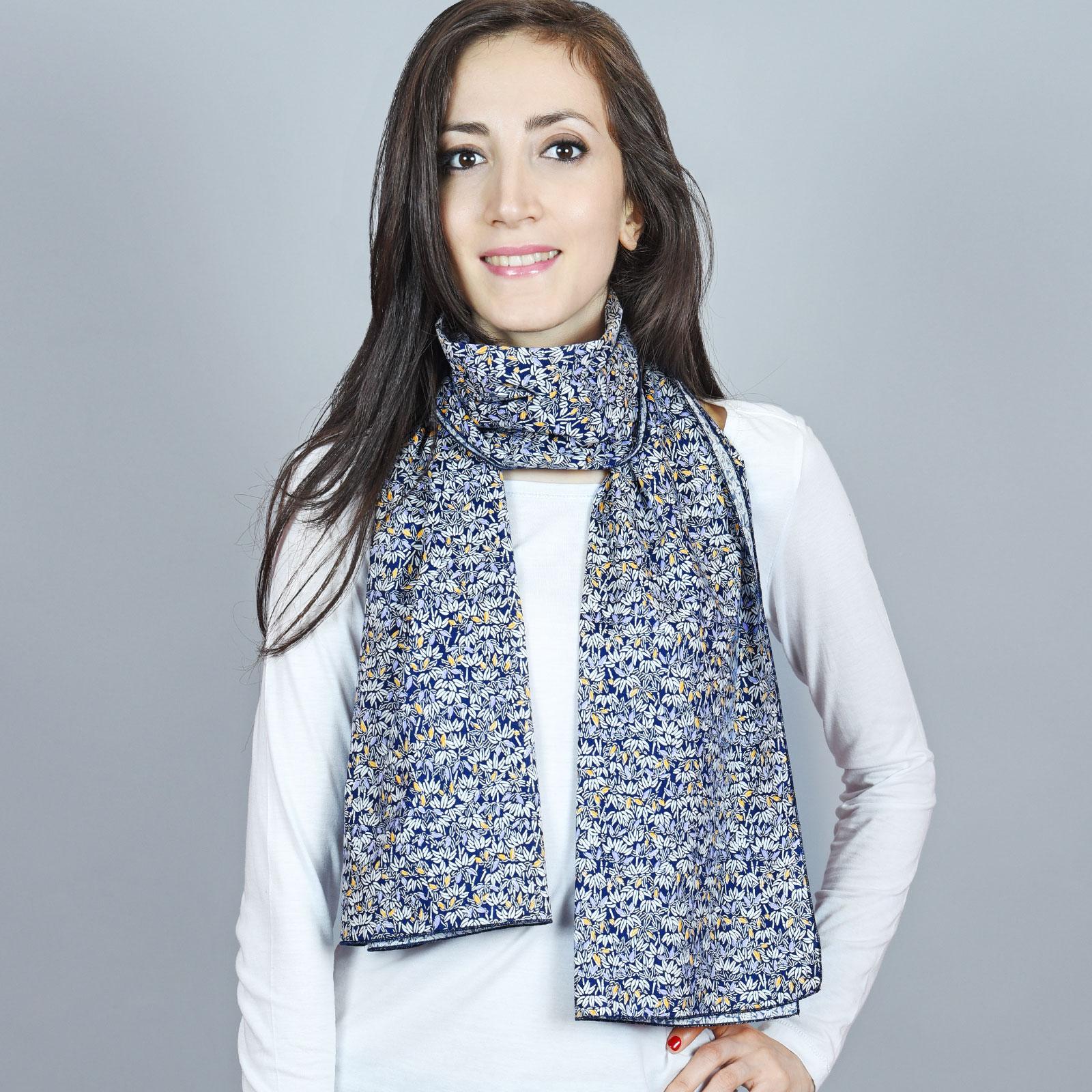 Echarpe femme légère Beige Rueda - 100% coton 8eef49e6e6f
