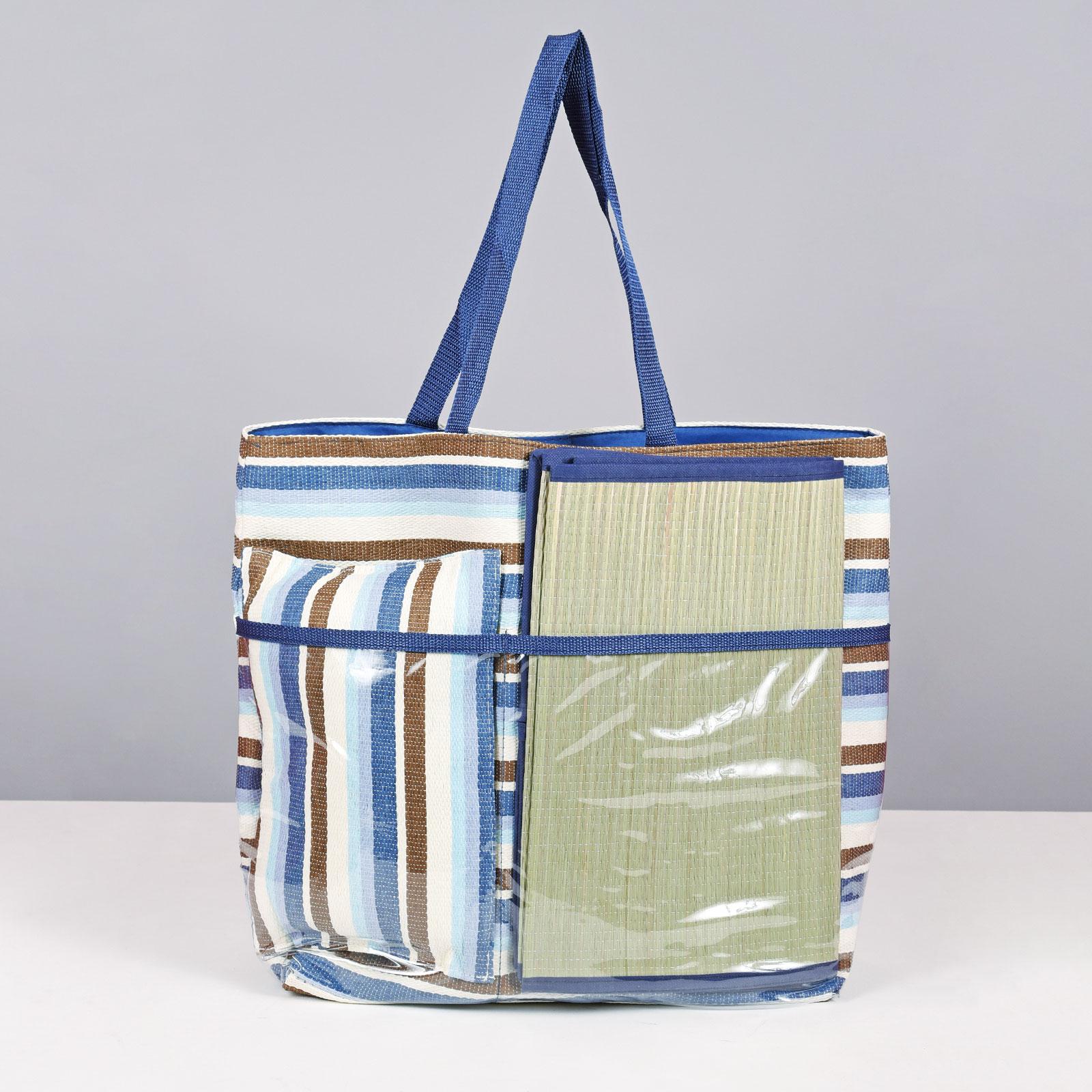 MQ-00121-F16-2-sac-plage-natte-oreiller-bleu
