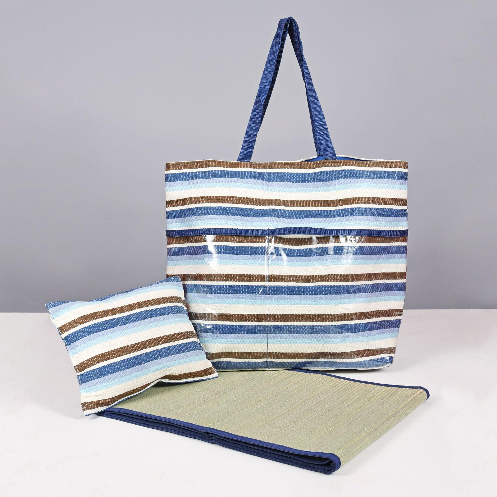 MQ-00121-F16-sac-plage-natte-paille-bleu
