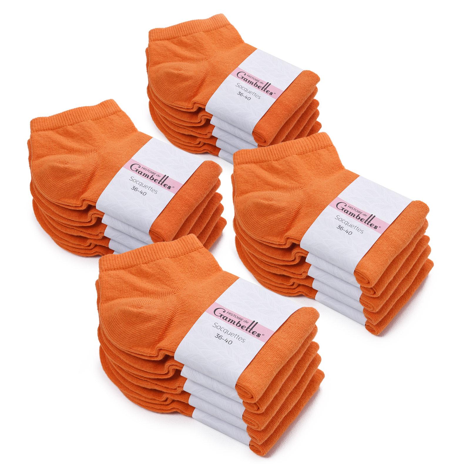 CH-00343-F16-soquettes-femme-coton-orange-20-paires