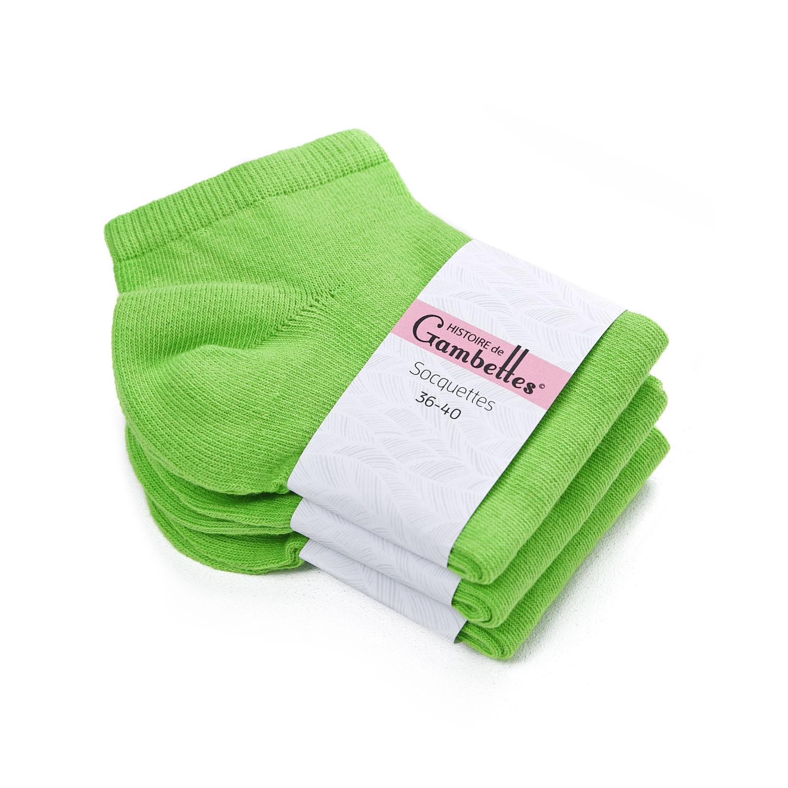 CH-00345-F16-soquettes-femme-coton-vert-pomme-3-paires