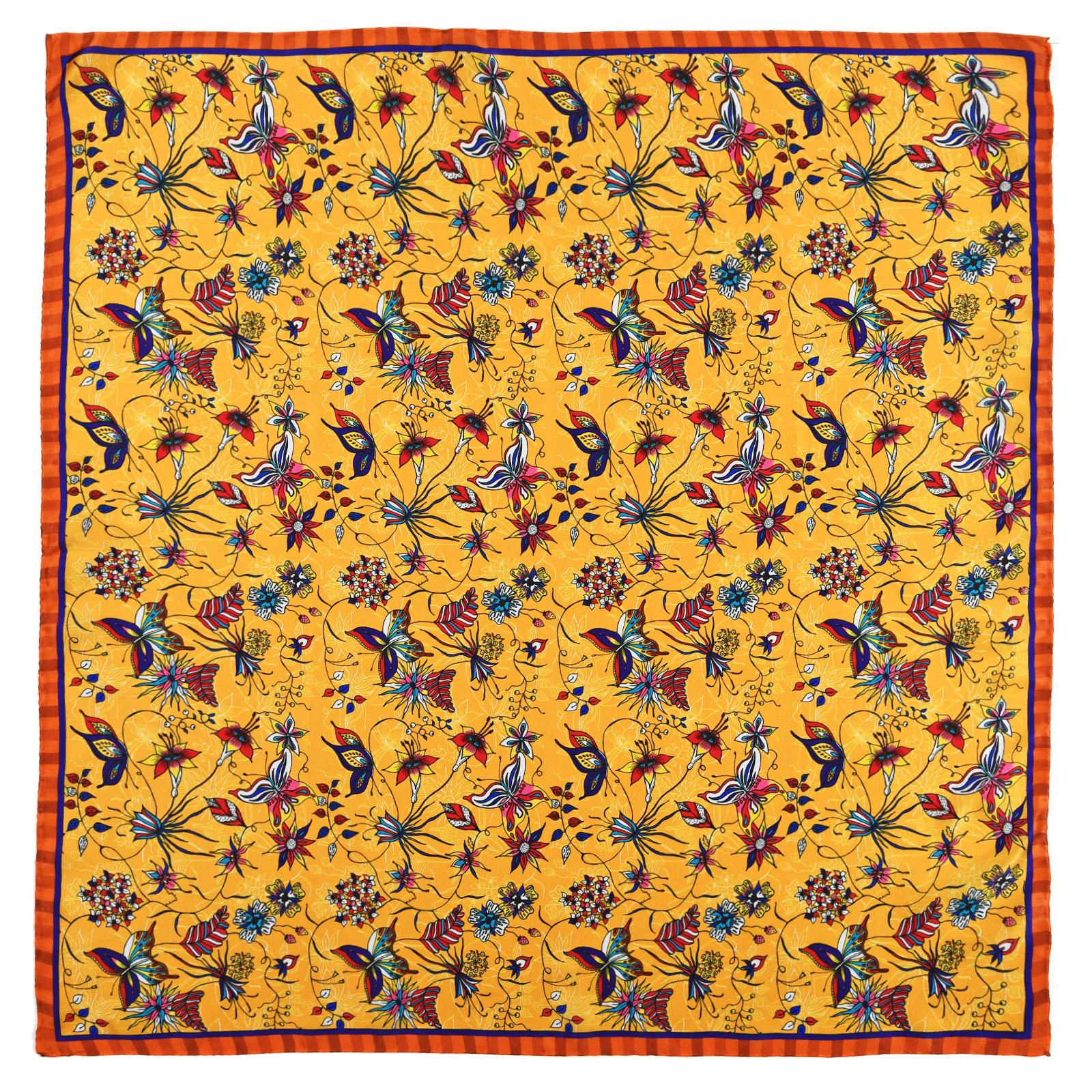 AT-04603-A16-foulard-carre-soie-jaune-orange-made-in-italie