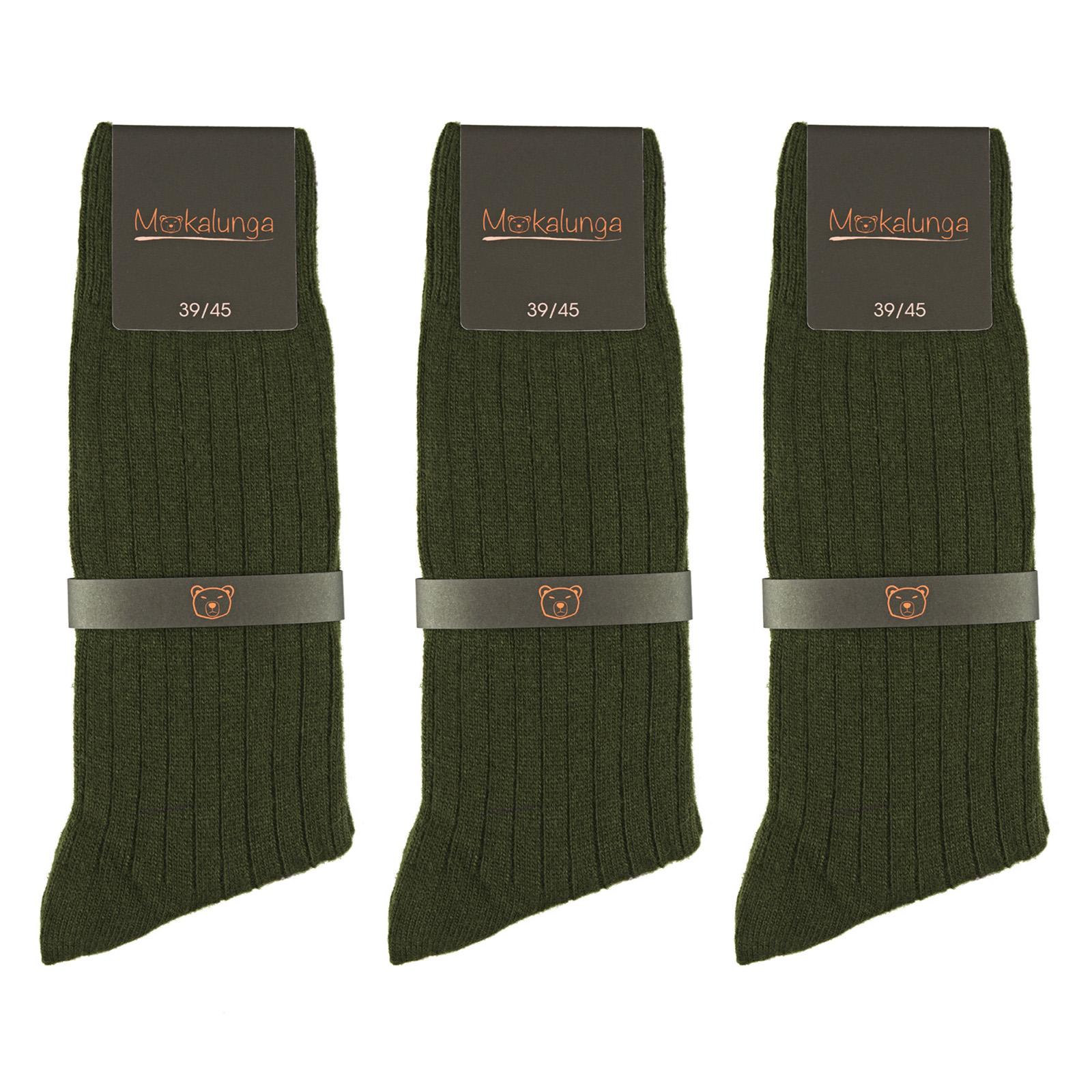 PK-00075-F16-chaussettes-vert-kaki-fonce