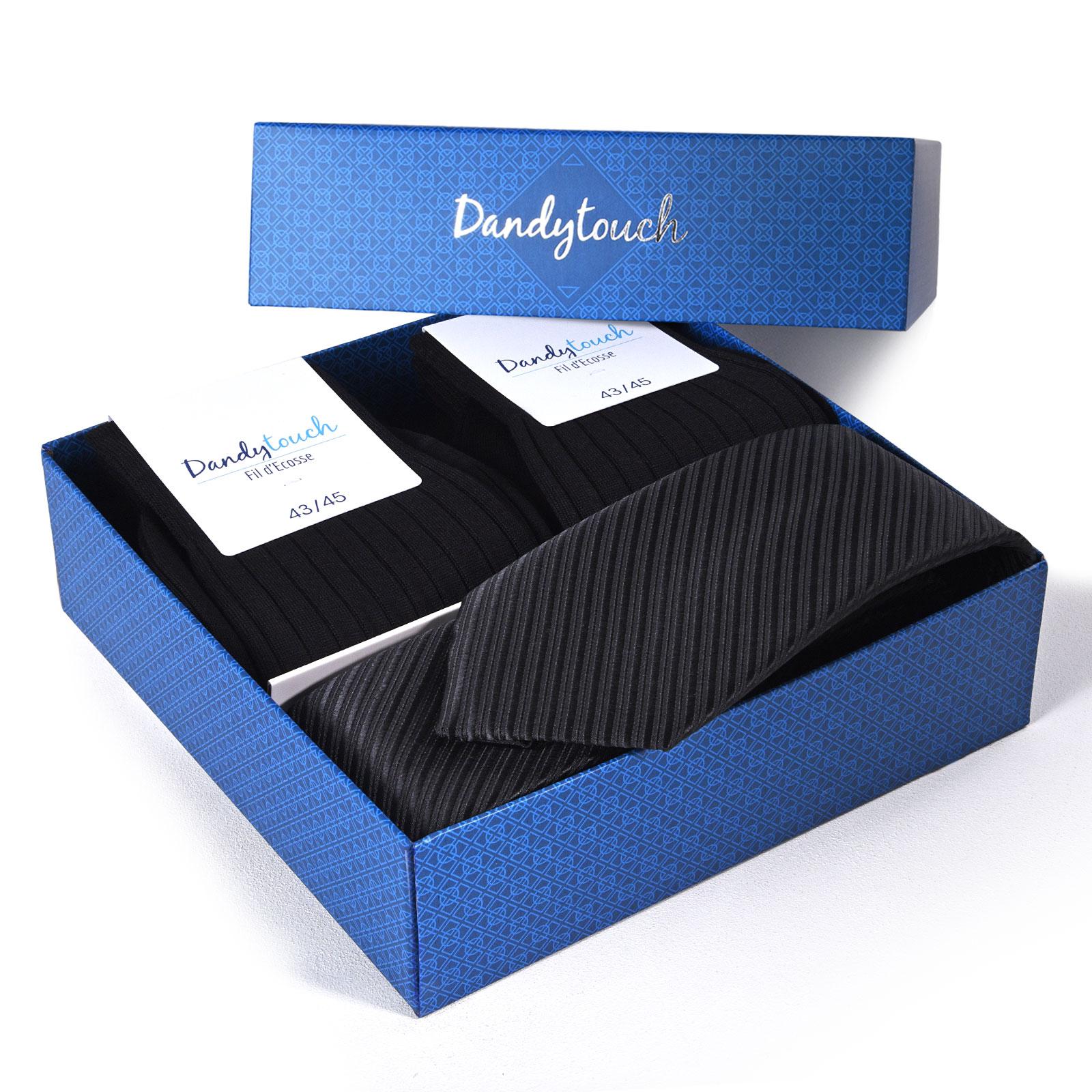 PK-00080-B16-coffret-chaussettes-fil-ecosse-noir+cravate