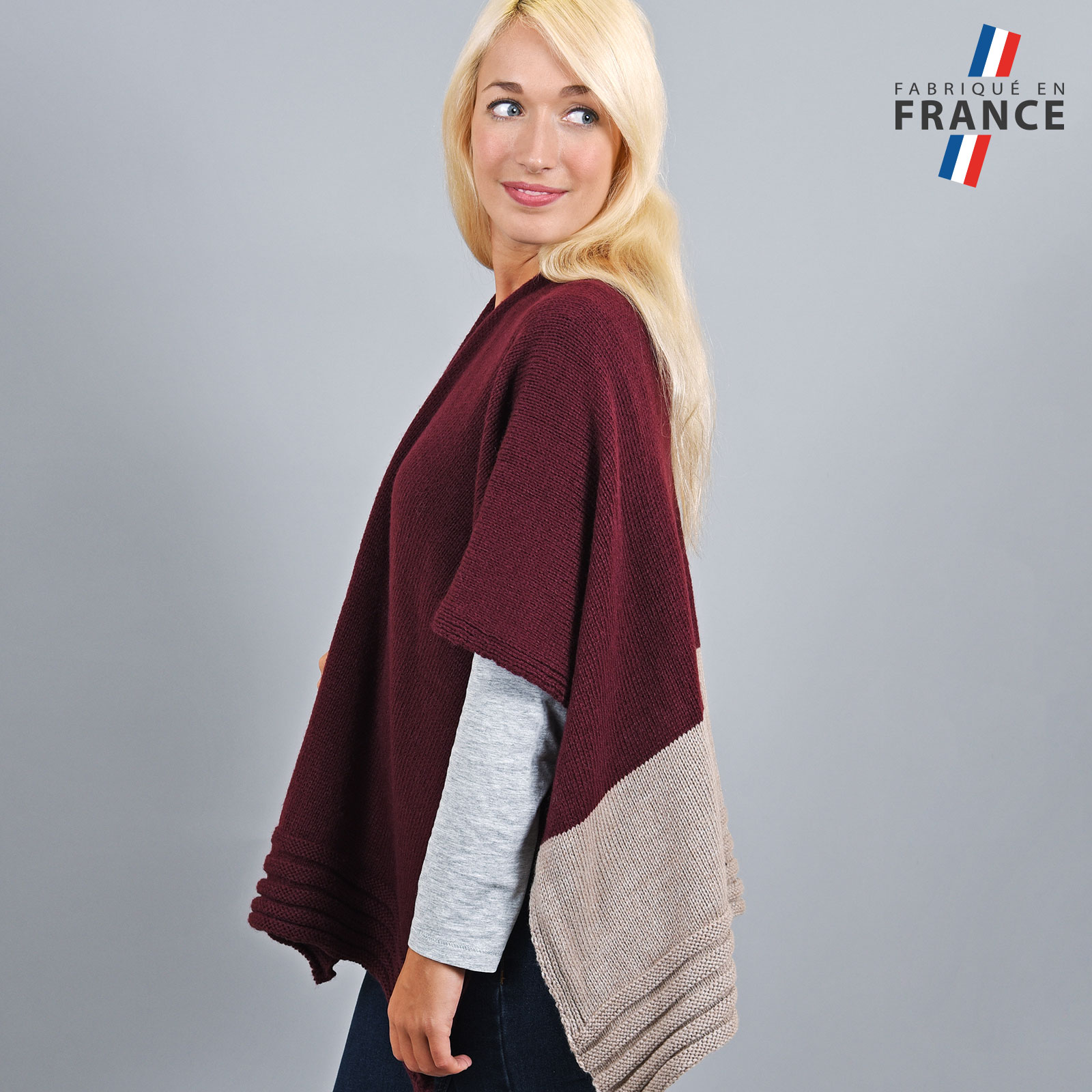 AT-03198-VF16-2-LB_FR-poncho-gilet-bordeaux-beige-fabrication-francaise