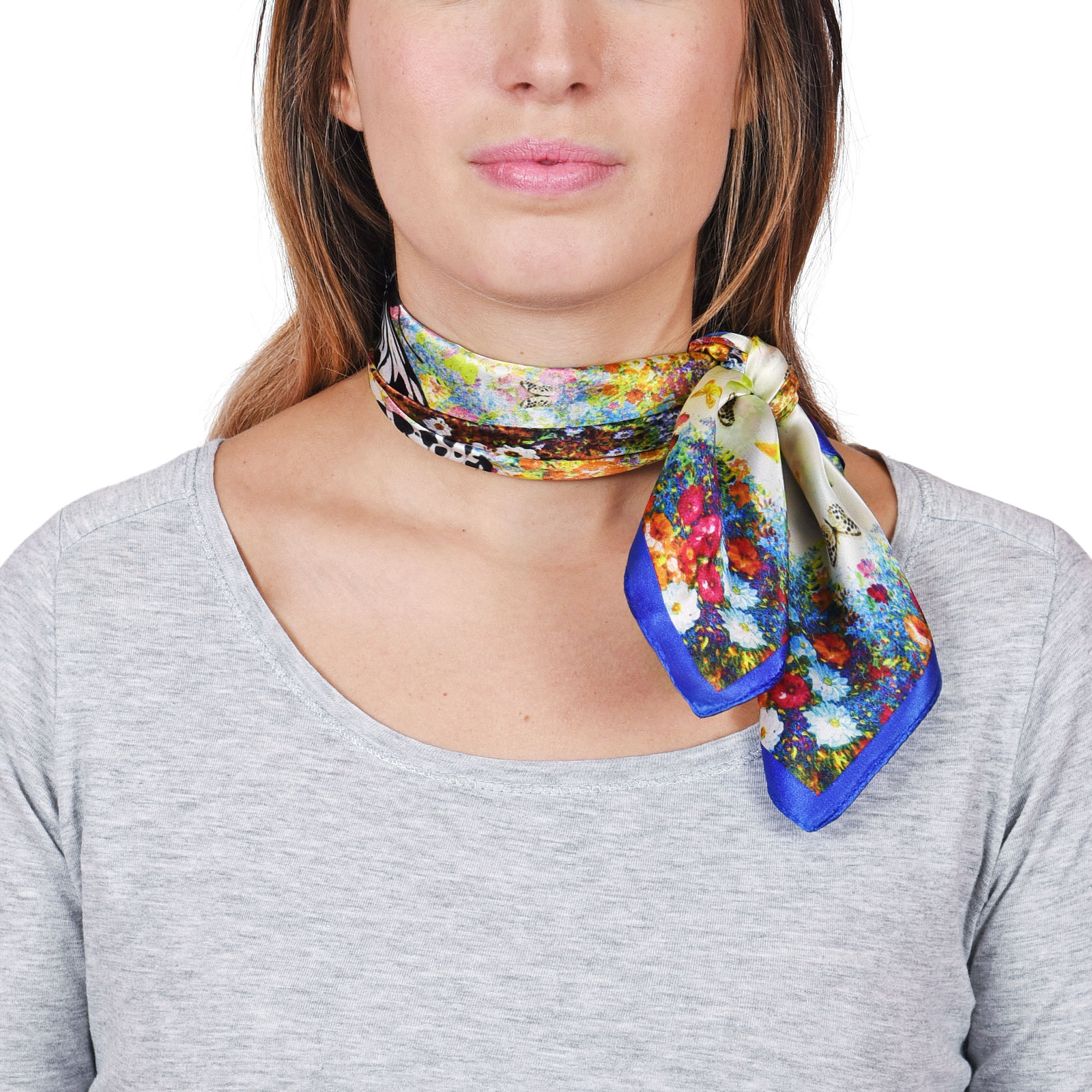 AT-04654-VF16-foulard-carre-soie-bleu-marine-papillons-et-fleurs