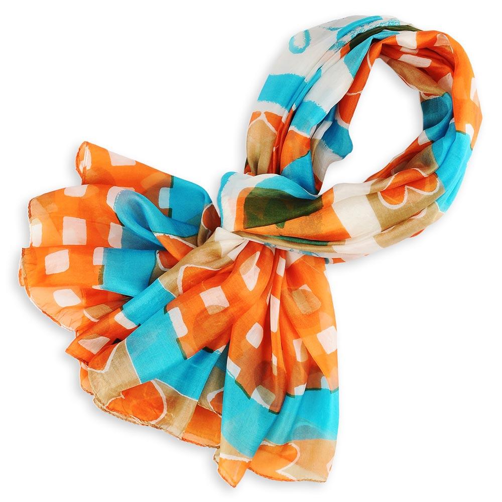 AT-01108-F10-etole-soie-indienne-orange-bleu