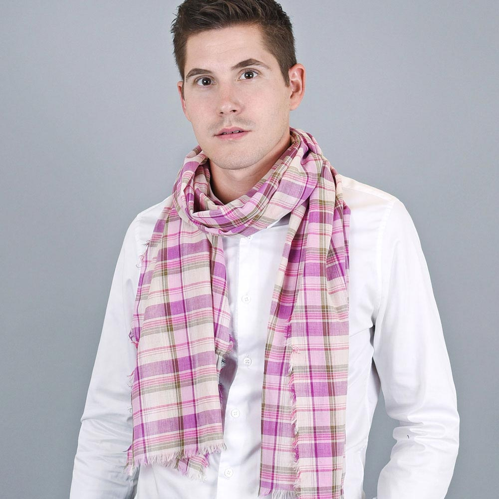 AT-01133-VH10-echarpe-cheche-homme-madras-carreau-rose
