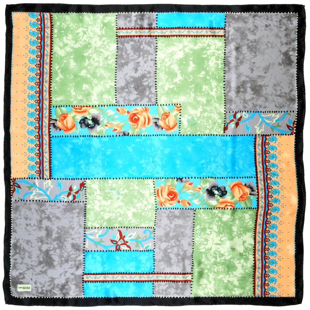 AT-01940-A10-carre-soie-patchwork-gris-bleu-vert