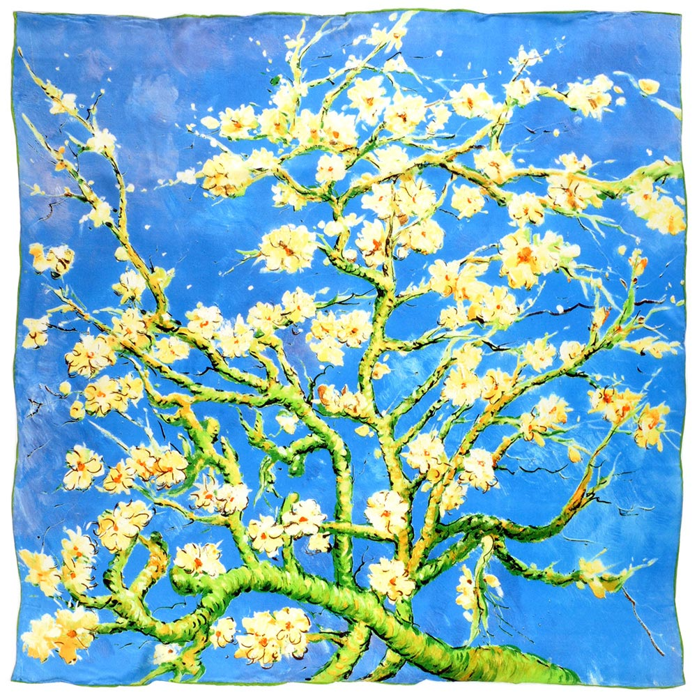 AT-01962-A10-carre-de-soie-silkart-van-gogh-amandiers-en-fleurs