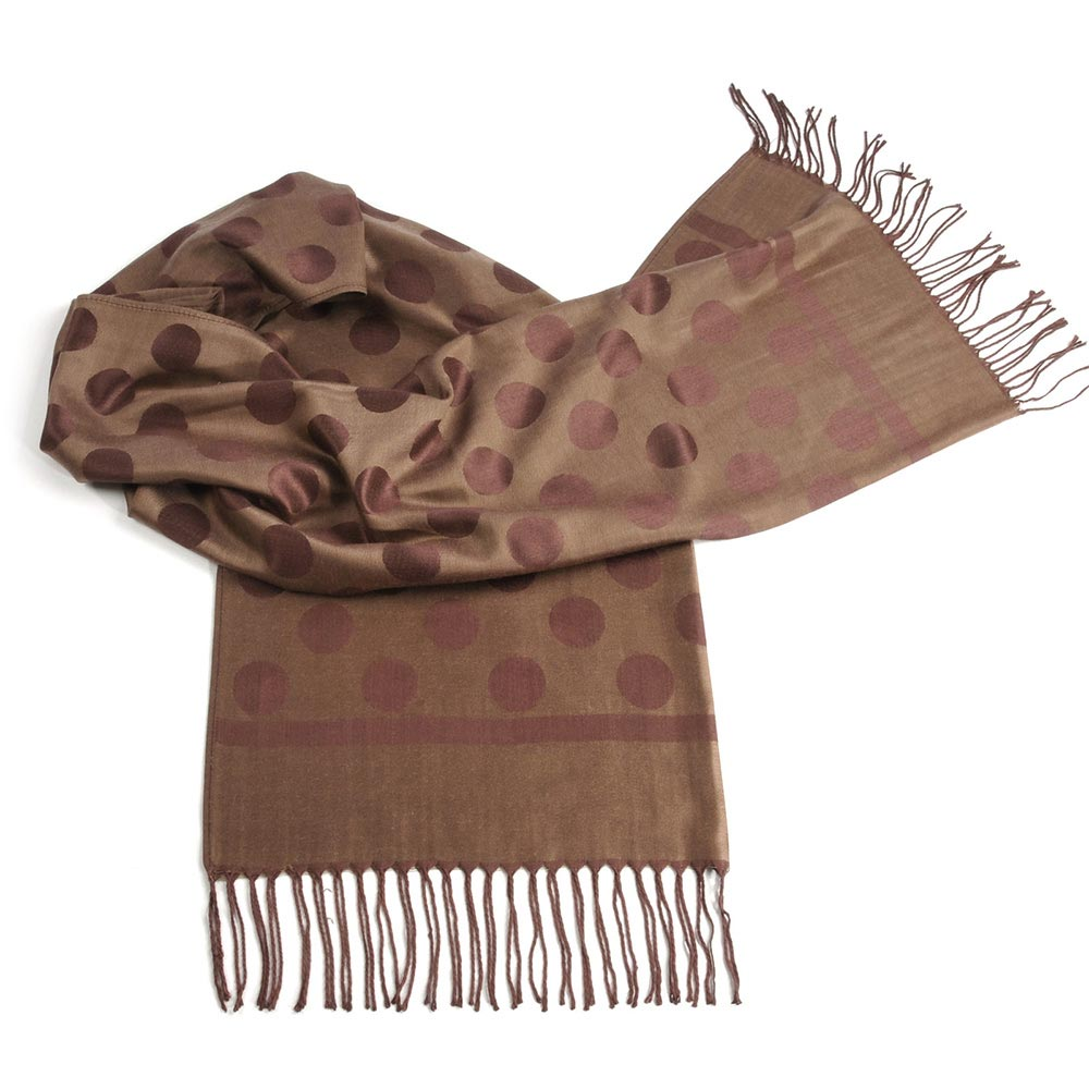 AT-02152-F10-chale-taupe-pois-et-franges - Copie