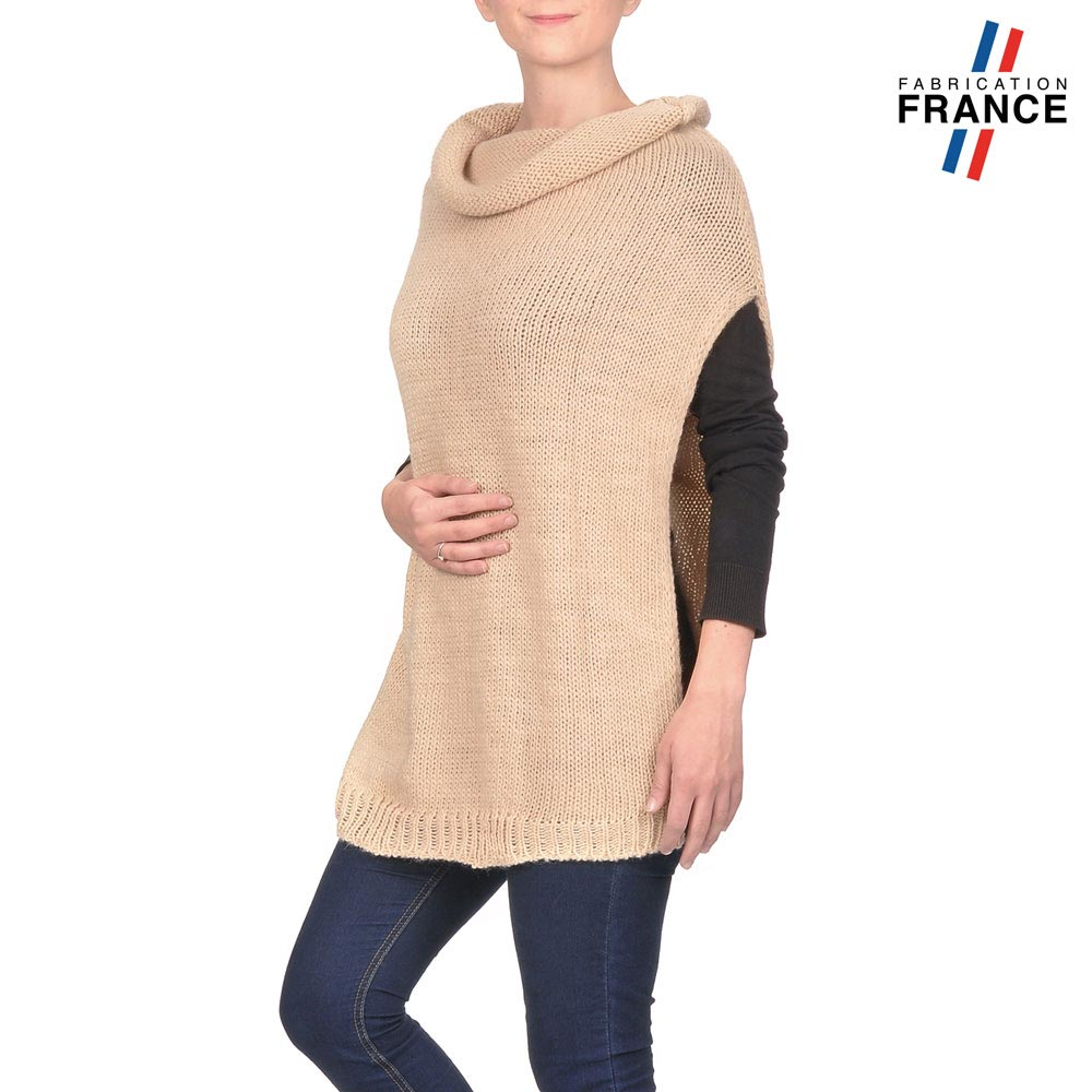 AT-03159-VF10-P-LB_FR-poncho-col-roule-beige
