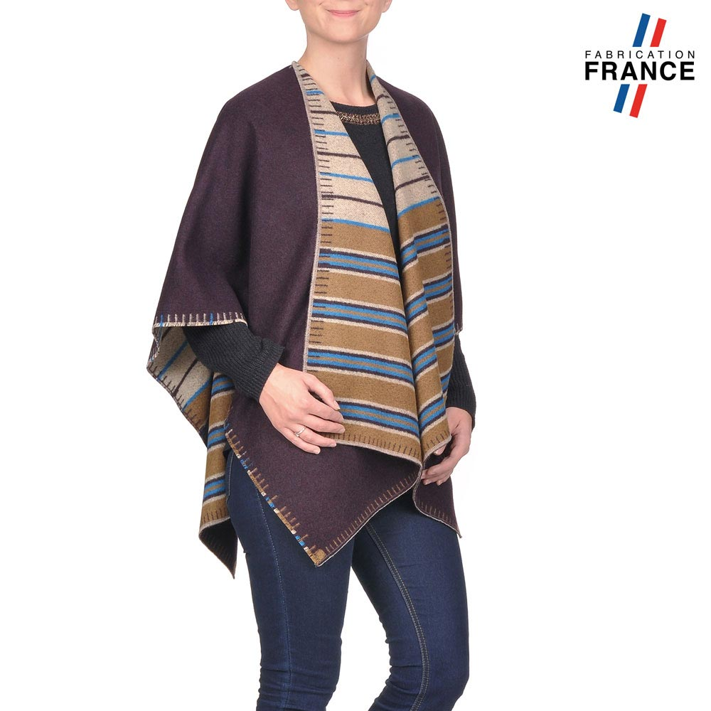 AT-03193-VF10-P1-LB_FR-poncho-femme-reversible-taupe-fabrication-france