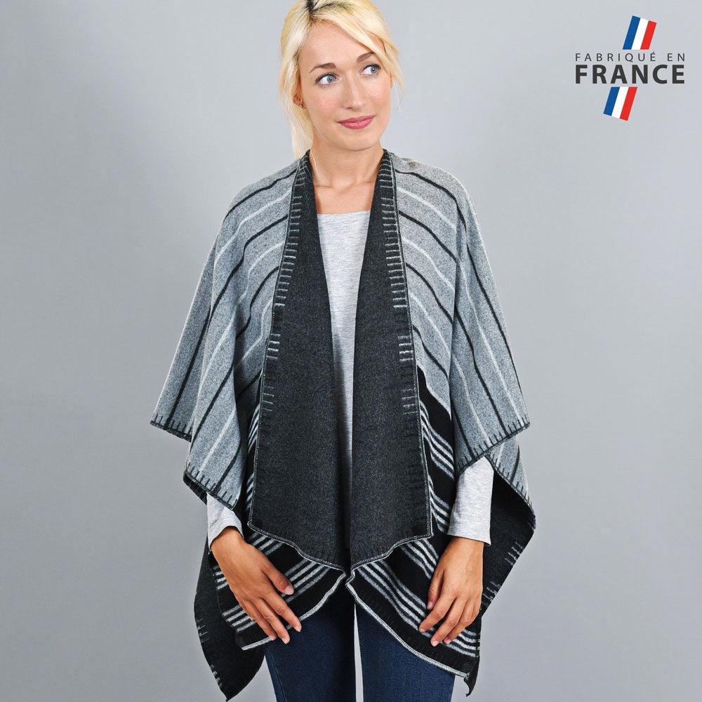 AT-03194-VF10-1-LB_FR-poncho-femme-reversible-noir-gris-fabrication-france - Copie