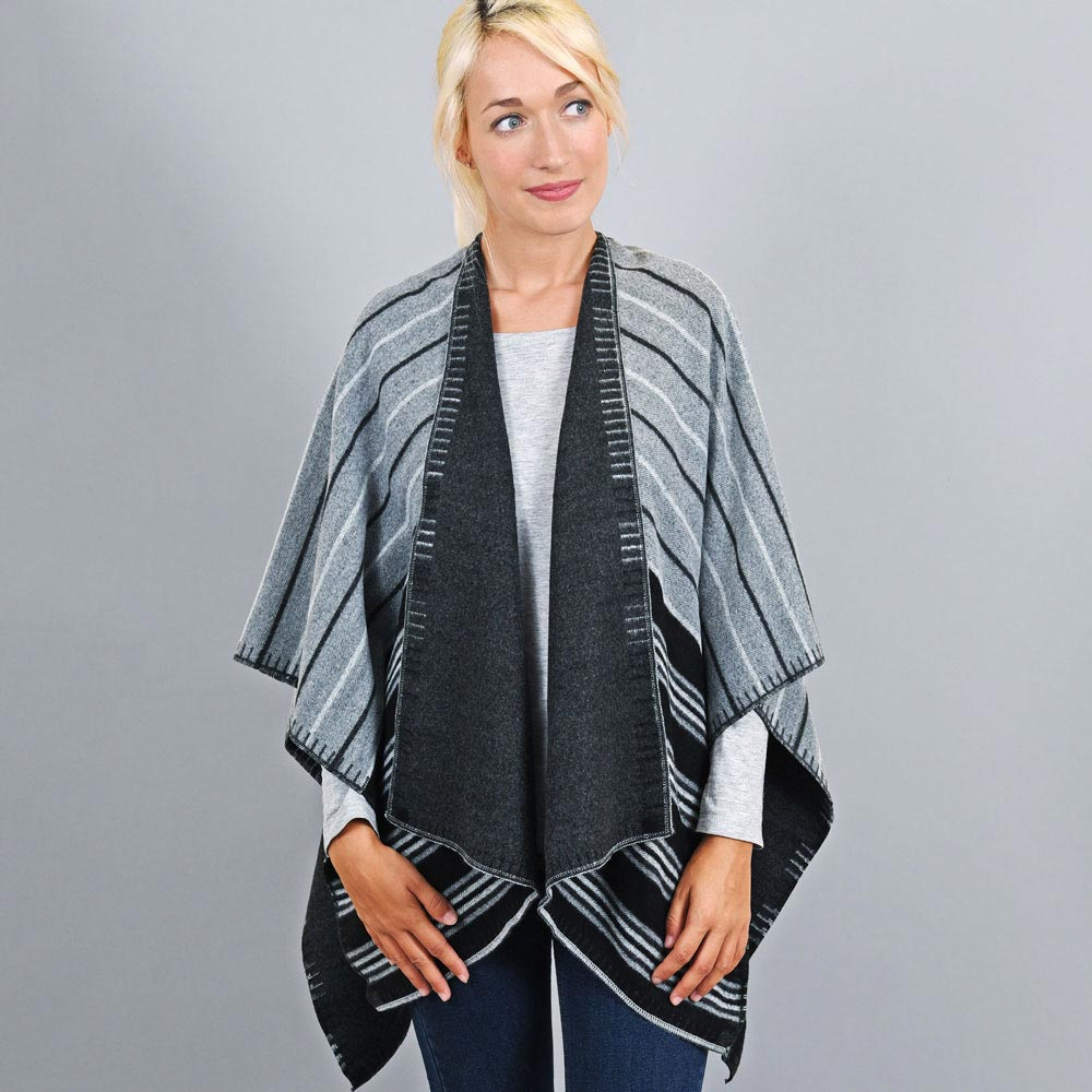 AT-03194-VF10-1-poncho-femme-reversible-noir-gris-fabrication-france