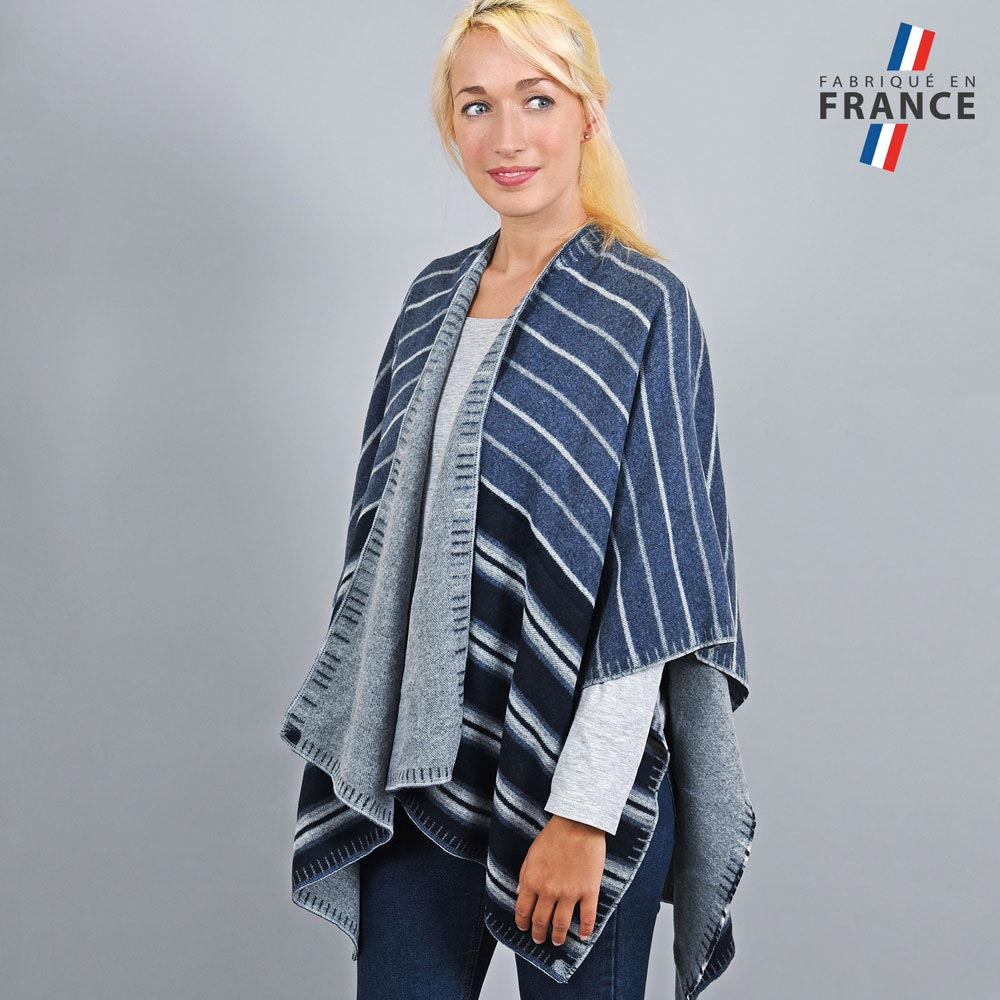 AT-03195-VF10-1-LB_FR-poncho-femme-reversible-bleu-marine-gris-fabrication-france