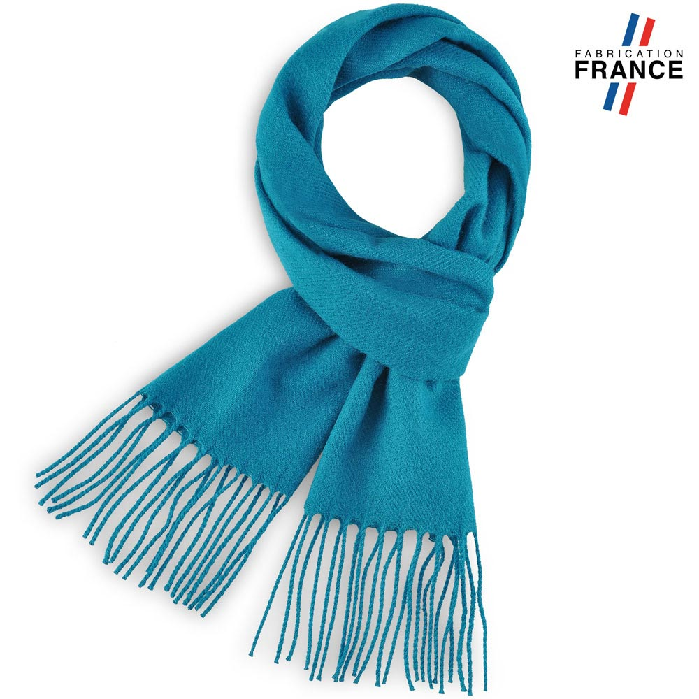 AT-03235-F10-LB_FR-echarpe-a-franges-bleu-paon-fabrication-francaise