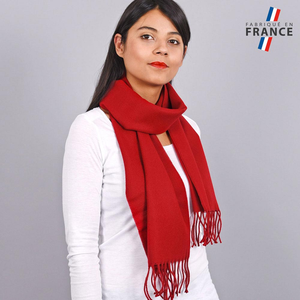 AT-03239-VF10-LB_FR-echarpe-franges-rouge-femme-fabrication-francaise